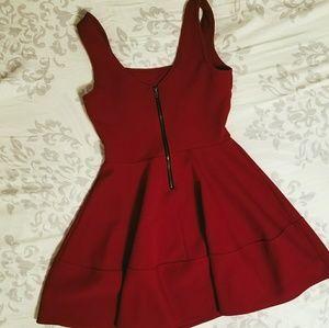 Dresses & Skirts - Classic Red Skater Dress
